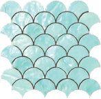 Mosaic Ventaglio Acqua 26x26,5 cm